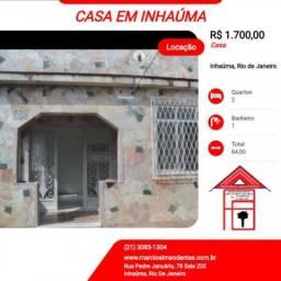 Casa para Locação em Rio de Janeiro, Inhaúma, 2 dormitórios, 1 banheiro