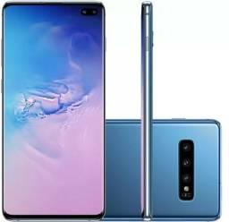 Galaxy S10+ Azul Prisma 128/8Gb Trocas em IPhone