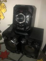 Hi-fi System Samsung 500Wrms/bluetooth/ 2usbCHARGER/REC/CD