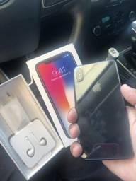 IPhone X 256 muito novo