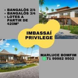 Oportunidade em Imbassaí - Bangalôs 2 e 3 quartos - Imbassaí Privilege