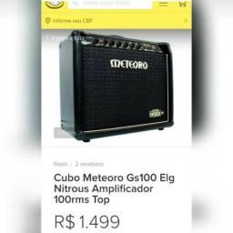 Amplificador de guitarra 100w 2 falantes