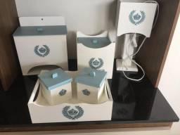 Kit higiene em MDF