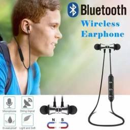 Fone de ouvido Bluetooth magnético!