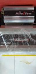 Vende se uma fonte Mila som e um sd8000