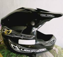 Capacete cross seminovo