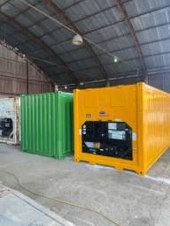 Containers de 20 pés Dry e Refigerado