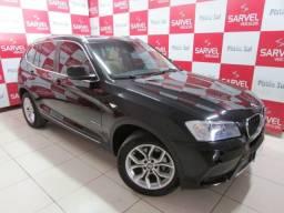 BMW X3 Xdrive Flex só DF, Revisões em dia. Teto, Couro, Multimídia. Confira!!!