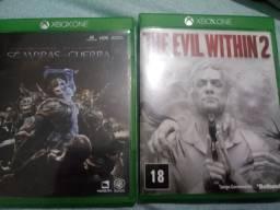 Dois Jogos xbox one venda/troca