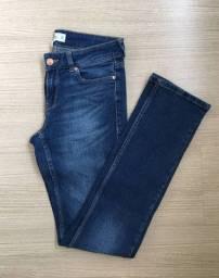 Calca jeans gringa Topshop t42