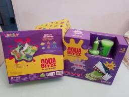 Playset com Slime - Big Shark - AquaBitzz - Rihappy<br>