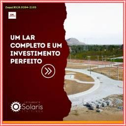 Solaris Loteamento ( Não perca tempo , venha investir)$@$