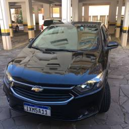 Prisma 2017 LT 1.4 Preto Manual Gnv