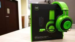 Fone Razer Kraken Tournament Green Usb Thx Spatial Audio