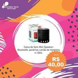Caixa de som- MiniSpeaker