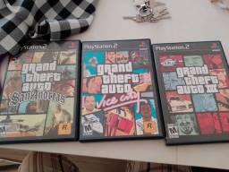 Trilogia GTA Playstation 2