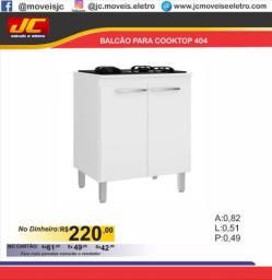 Balcão 404 para cooktop       u