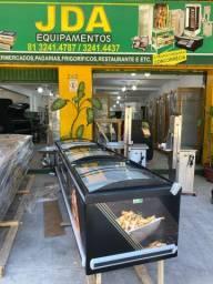 Título do anúncio: Ilha dupla ação /para produtos congelados ou resfriados - supermercado/padarias/gelopar
