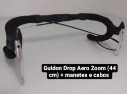 Título do anúncio: Guidon aero zoom + manetes + fita e cabo