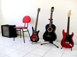 Aulas de Violão, Guitarra e Baixo