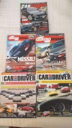 Título do anúncio: 5 revistas de carros