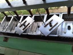 Prensa de alumínio reforçado inox
