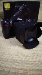 Vendo câmera profissional D7000