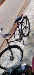 Bicicleta monark cachimbada 82