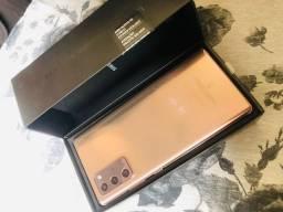 Samsung note 20 bronze 256gb (aceito troca) cartão 12x