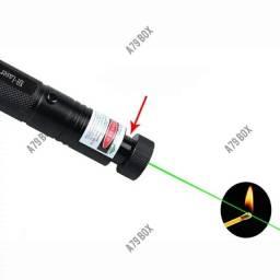 Título do anúncio: Laser Verde Potente Longa Distância 5km Com Ponteiras