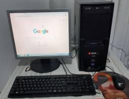 Computador com monitor LG