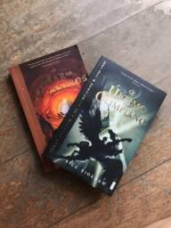 Saga Percy Jackson - Livro 2 e 5