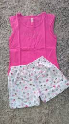 Lote de roupas infantil feminino