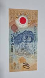 Vendo notas de R$ 10,00 para colecionadores