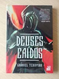 Livro Deuses caídos, Gabriel Tennyson - NOVO