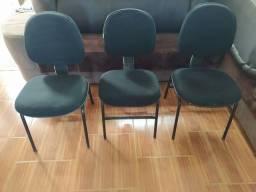 Título do anúncio: 3 cadeiras de escritório