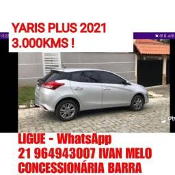 Título do anúncio: YARIS 2021 Falar com Ivan Melo Concessionária