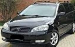 Título do anúncio: Toyota fielder corolla 2007 automática completa  [carro do sul , não rodava na terra]