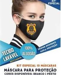 Título do anúncio: kit 10 mascara personalizada