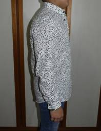 camisa manga longa primark