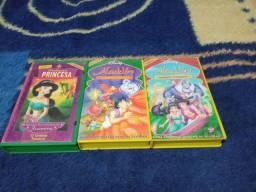 Coleção VHS Aladdin