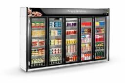 Expositor auto serviço para frios e bebidas em 10x sem juros no cartão