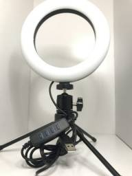 "Iluminador De Led Ring Light 6"" de Mesa Anel de luz para Selfie"