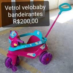 Título do anúncio: Velotrol Bandeirantes praticamente novo.