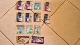 30 Pacotes de Anzol, Importado Japão, total de 330 Anzol