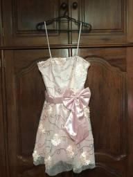 Título do anúncio: Vestido de festa rosa Miss Betty