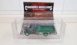 Revista Altaya c/Miniatura Caminhão Brasileiros Chevrolet 6400 Metal 1:43