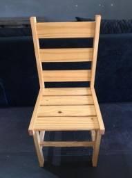 Cadeiras de madeira Pinnos Pré envernizada !!!