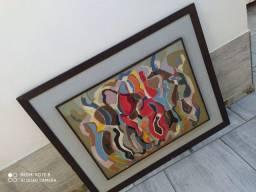Vendo esse quadro bonito grande pintura óleo tecido