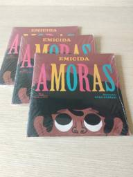 Livro Amoras, Emicida - NOVO